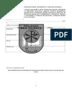Evaluación Formativa Historia  3 Basico