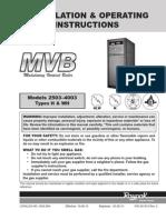 Manual MVB RAY PACK