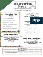 Aug 24-28th