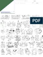 Pokemon Para Colorear - Buscar Con Google