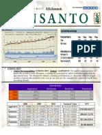 Undergraduate Market Research Report on Monsanto