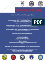2015 Academy Day Hosted by Senator Lindsey Graham
