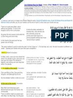 Dernier Jours de RAJAB