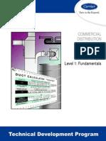 12-Duct Design Level 1 Fundamental (TDP-504)