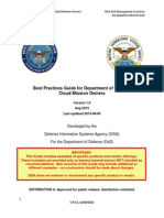 Best Practices Guide for Department of Defense Cloud Mission Owners