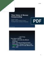 Mod 2 - TVM - Compounding - Slides
