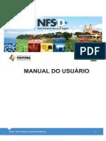 Manual de Emissao NFS-d
