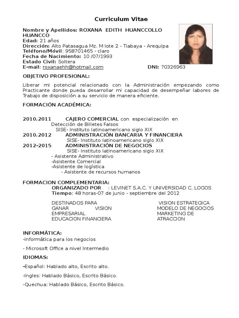 Lujo Ejemplos Objetivos De Carrera Para Asistente Administrativo ...