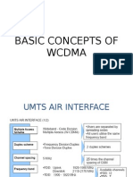 Basic Concepts of Wcdma