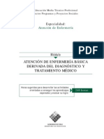 At.enfermería Básica Derivada Del Diagnóstico y Trat. Médico