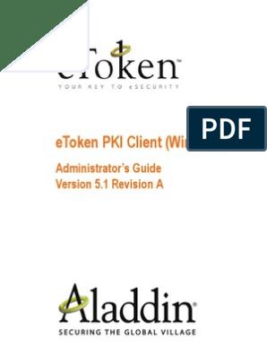 EToken PKI 5 1 Admin Guide Windows Rev A   Windows Registry