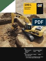 Excavadora 329 Dl