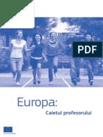 Europa Caietul Profesorului