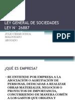 Clase Sobre Ley General de Sociedades Sjbi 2010
