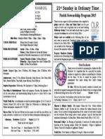 27th Sunday in Ordinary Time | Catholic Church | Eucharist