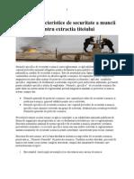 Norme Caracteristice de Securitate a Muncii Pentru Extractia Titeiului