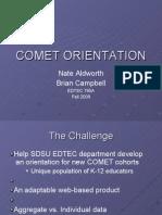 Comet Orientation Final-1