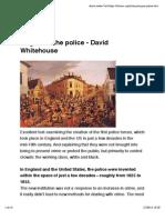 Origins of the Police - David Whitehouse