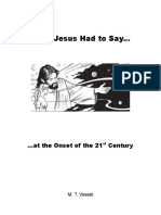 What Jesus Had to Say at the Onset of the 21st Century