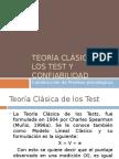 Teoría Clásica de Los Test y Confiabilidad (1)