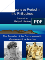 The Japanese Period in the Philippines