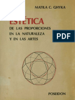 Matila C. Ghyka - Estética de Las Proporciones en La Maturaleza y en Las Artes
