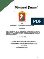Código Reglamentario del Municipio de Toluca