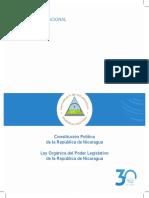 Constitucion Politica y Ley Organica Del Poder Legislativo