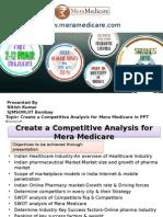 NitishKumar IIT Bombay Mera Medicare Competative Analysis