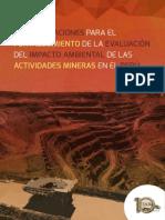 Recomendaciones para el fortalecimiento de la evaluación del impacto ambiental de las actividades mineras en el Perú