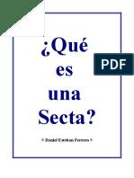 Que Es Una Secta - Esteban Ferrero