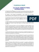 Clausula Calvo