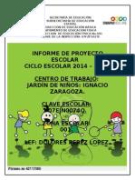 Informe Final de Proyecto 2013-2014