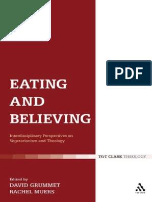 David Grumett, Rachel Muers - Eating and Believing_