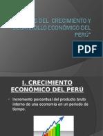 ANÁLISIS DEL  CRECIMIENTO Y DESARROLLO ECONÓMICO.ppt