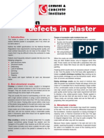 Common Defects in Plaster Popping Caliches