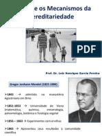 Aula - Mendel e Os Mecanismos Da Hereditariedade