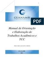 Manual Tcc Fg