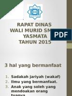 Rapat Wali Murid