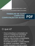 Apresentação Computação Em Nuvem