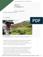 Cambio Climático Colombia & Amazonia 2015