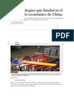 Las Estrategias Que Fundaron El Desarrollo Económico de China