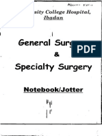 Surgery Lecture Notebook