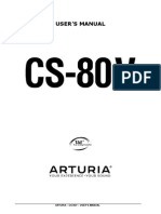 Yamaha CS80V Manual