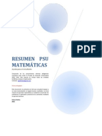 Resumen Psu Matemticas