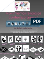 Introducción Movimientos religiosos contemporaneos