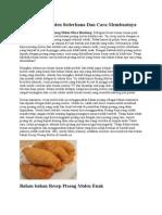 Resep Pisang Molen Sederhana Dan Cara Membuatnya.docx