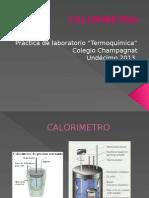 Calorimetria Lab