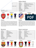 Fifa Champhions League Clubs 2014
