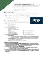 Admin Exams Notes Law